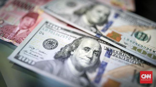 Rifanfinancindo - Rupiah Kian Lunglai ke Rp14.878 per Dolar AS