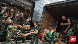 Ratusan Personel TNI di Lombok Dipindah ke Palu