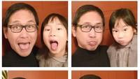 <p>Saat bareng anak-anak, Addie MS juga bisa diajak 'gila-gilaan' lho. He-he-he. (Foto: Instagram/ @addiems999)</p>