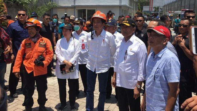 Presiden Joko Widodo meminta Kepala BNPB Doni Monardo mempercepat rehabilitasi wilayah NTB, Sulawesi Tengah, Lampung dan Banten.