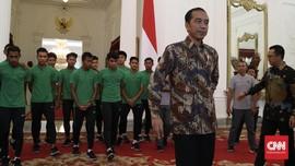 Bertemu Jokowi, Kebahagiaan untuk Timnas Indonesia U-16