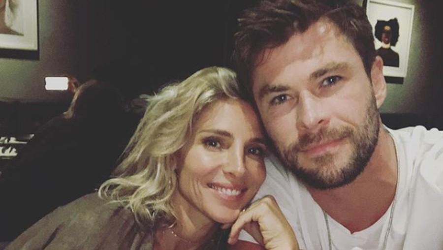 Ucapan Romantis Istri di Ultah ke-36 Chris Hemsworth