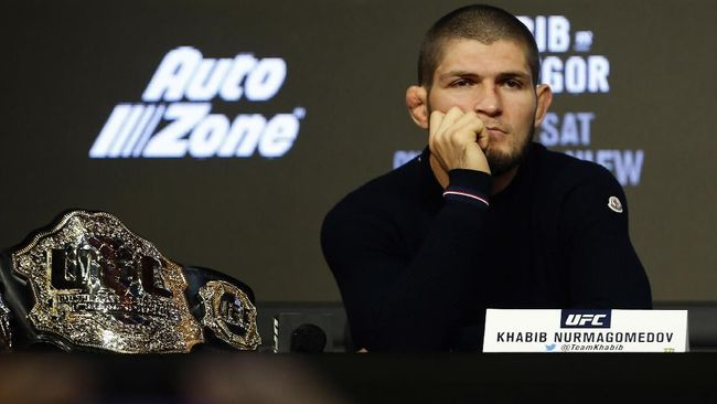 Petarung Kelas Welter UFC Merasa Percaya Diri Habisi Khabib