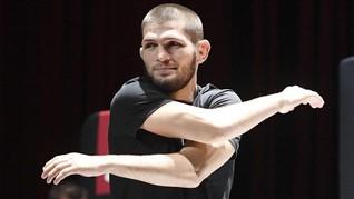 UFC 254: Khabib Bisa Siksa Gaethje Lewat Standing Fight