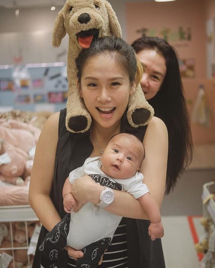 Yuk, intip foto gemas Ryu Alexander Panjaitan, anak Cherly Eks Cherrybelle.