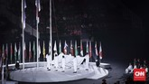 Upacara pembukaan Asian Para Games 2018 yang berlangsung di Stadion Utama Gelora Bung Karno, Sabtu (6/10), tidak kalah meriah dari Asian Games 2018.