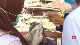 VIDEO: Vaksin Tetanus untuk Warga Korban Gempa Palu