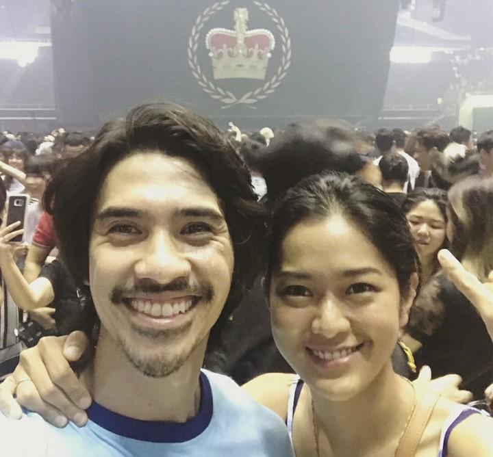 <p>Kalau diperhatikan wajah pasangan ini mirip ya, Bun? (Foto: Instagram/iedilputra)</p>