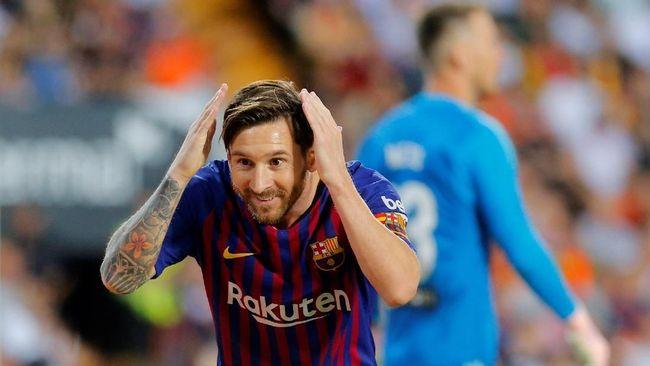 Lionel Messi tercatat memiliki jumlah gol dan assist tertinggi di antara seluruh pemain yang berlaga di lima liga top Eropa musim 2018/2019.