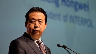 Terima Suap, China Vonis Eks Kepala Interpol 13 Tahun Penjara