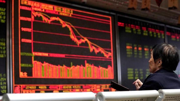 Trump Mulai Galak Lagi, Indeks Shanghai Ambruk 1,36%
