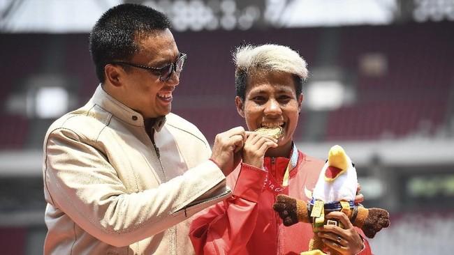 Imam Nahrawi menjadi Menpora RI sejak dilantik pada 27 Oktober 2014 dan turut dalam ingar bingar berbagai ajang olahraga di Indonesia termasuk Asian Games 2018.
