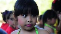 Salah satu keponakan Ni Nengah Widiasih yang sering diposting tersendiri. Cantik dan menggemaskan ya? (Foto: Instagram @widia_angel)