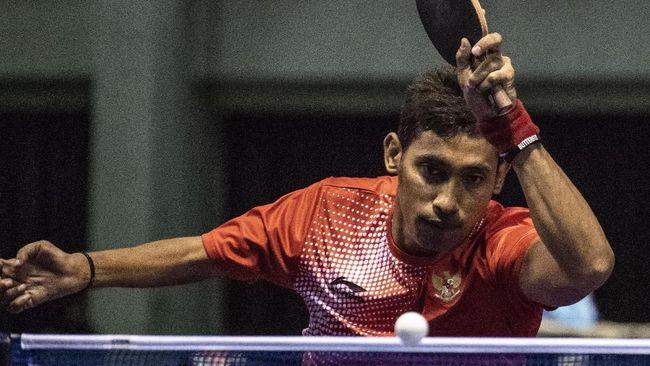 Dua pasangan ganda putra Indonesia berhasil menyabet emas dalam Asian Para Games 2018, Rabu (10/10), dan menambah jumlah emas Indonesia menjadi 18 keping.