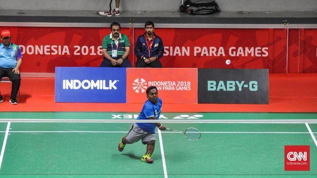 Atlet-atlet bulutangkis Indonesia yang berlaga di Asian Para Games 2018 menampilkan semangat besar untuk meraih kebanggaan sebagai juara level Asia.