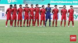 FOTO: Timnas Indonesia U-19 Dipatuk Green Falcons