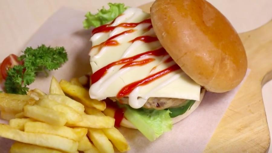 Resep Burger Oncom, Paduan Legit Menu Asing dan Indonesia