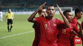 FOTO: Pesta Gol Timnas Indonesia ke Gawang Myanmar