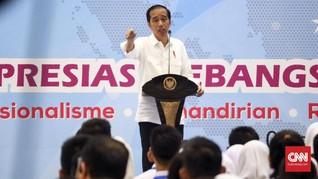 Jokowi Pertanyakan Klaim 99 Persen Masyarakat Hidup Pas-pasan