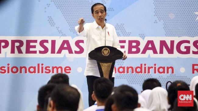 Jokowi membantah tudingan Prabowo bahwa 99 persen masyarakat Indonesia hidup pas-pasan. Menurutnya tidak demikian bila merujuk data BPS dan pertumbuhan ekonomi.