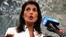 VIDEO: Dubes AS untuk PBB Nicky Haley Mengundurkan Diri
