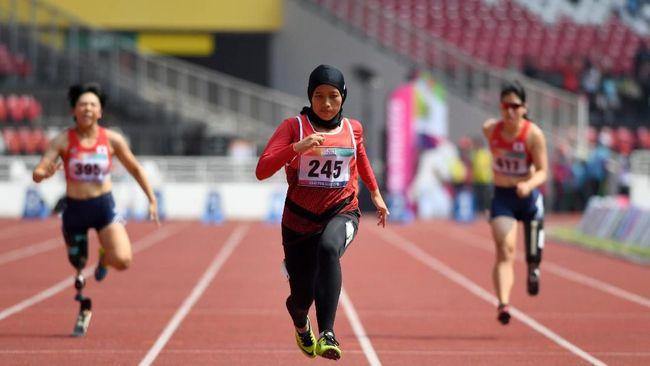 Indonesia jauh melampaui target medali di Asian Para Games 2018 dengan meraih 37 emas, 47 perak, dan 51 perunggu.
