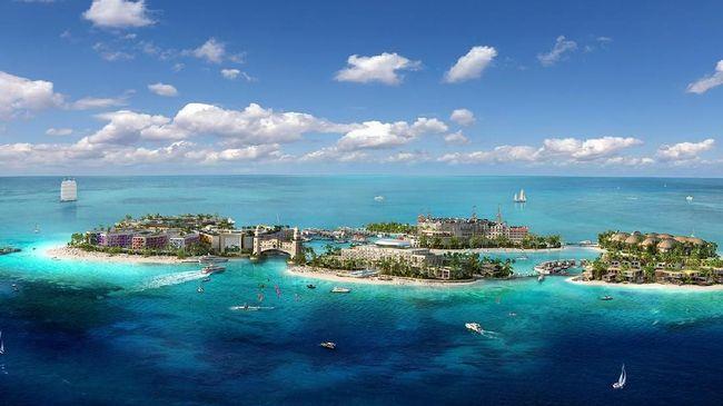 Ratusan pulau yang direklamasi Dubai disulap menjadi enam pulau liburan seru nan mewah bertema Eropa.