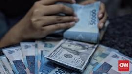Rupiah Lesu ke Rp14.055 Akibat Ketidakpastian Stimulus AS