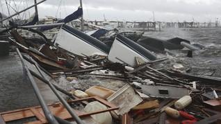 Badai Laura di AS Tewaskan 6 Orang, WNI Aman