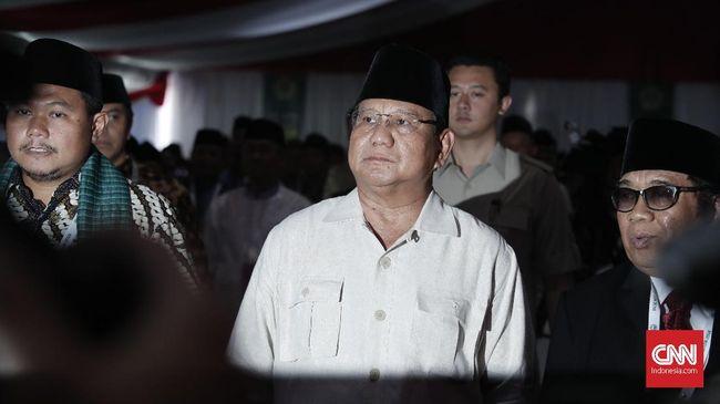 Capres nomor 02, Prabowo Subianto, membantah anggapan bahwa ungkapan 'Make Indonesia Great Again' yang ia lontarkan beberapa waktu lalu adalah hasil jiplak.