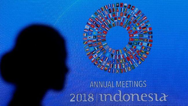 Dari pertemuan tahunan berskala nasional IMF-Bank Dunia, keuntungan terbesar didapatkan provinsi Bali baik dari segi finansial maupun infrastruktur.