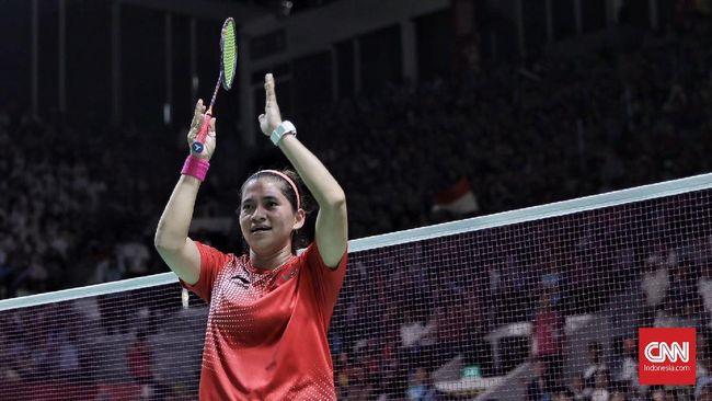 Leani Ratri Oktila berhak meraih penghargaan atlet para badminton putri terbaik dunia versi BWF 2019.