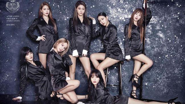 Girlband 'AOA'. (dok. FNC Entertainment)