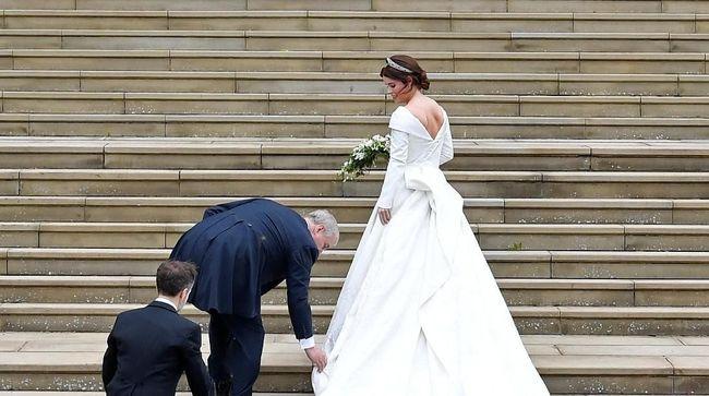Agar tampil prima di hari pernikahannya, Putri Eugenie melakukan diet ketat untuk menurunkan berat badannya.