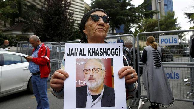 AS disebut terima Rp1,5 T dari Saudi saat kunjungan Pompeo ke Riyadh yang hendak mendiskusikan kisruh kasus wartawan hilang Jamal Khashoggi.