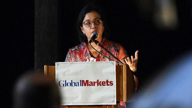 Menkeu Sri Mulyani mengatakan ketidakpastian ekonomi sekarang berubah cepat dan menimbulkan kebingungan pasar.