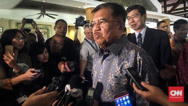 Wapres Jusuf Kalla menyontohkan dirinya saat kalah dari SBY pada Pilpres 2009 yang langsung mengontak dan memberi ucapan selamat.