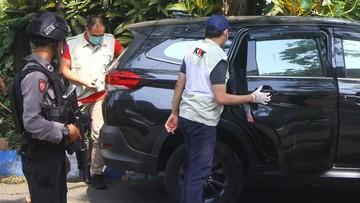 Dua kantor dinas di Bandung Barat digeledah KPK terkait kasus kepala daerah tersangka korupsi Aa Umbara.