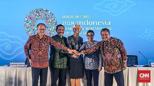 Menteri Keuangan Sri Mulyani menilai 'musim dingin' akan menghampiri negara maju. Namun, diharapkan acara IMF-World Bank di Bali membantu meredam gejolak itu.