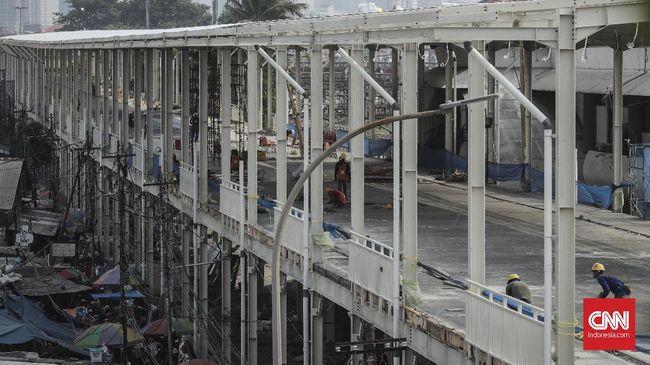 Pemprov DKI diminta Ombudsman membuka Jalan Jatibaru bersamaan dengan peluncuran skybridge atau jembatan penyeberangan multiguna di Tanah Abang.