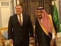 VIDEO: Tiba di Arab, Mike Pompeo Disambut Raja Salman
