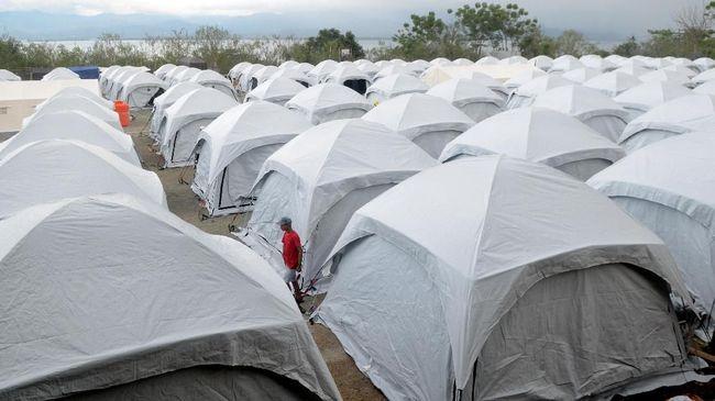 Pemerintah Kota Palu menyebut masih ada 6.655 jiwa yang masih hidup di tenda-tenda karena keterbatasan hunian sementara yang disediakan pemerintah.