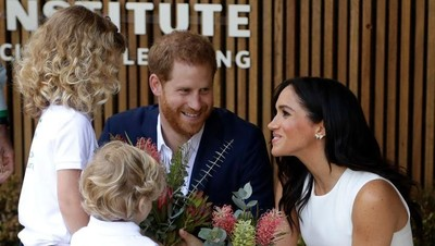 Hal Kocak yang Pangeran Harry Lakukan pada Istri di Australia
