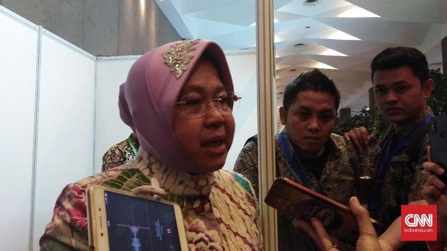 Risma menyebut sikap toleran terbangun dari taman, sebuah adalah medium bertemunya semua masyarakat Surabaya dengan segala perbedaannya.