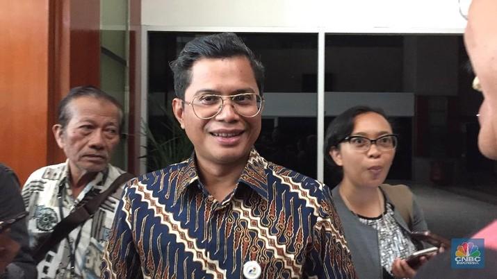 Foto: Direktur Keuangan PT Pertamina (Persero) Pahala N Mansury (CNBC Indonesia/Anastasia Arvirianty)