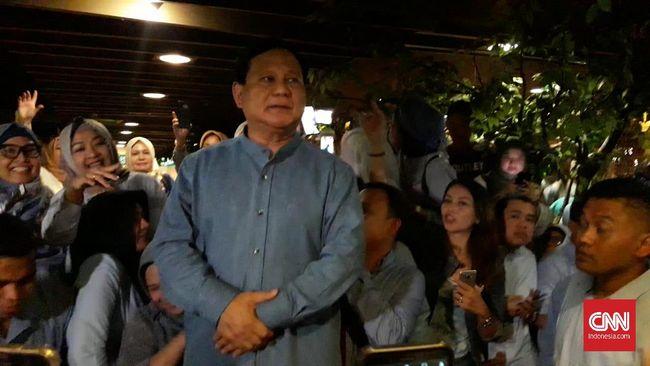 Prabowo Rayakan Ulang Tahun ke-67 Bersama Titiek Soeharto