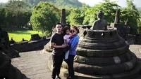 <p>Serunya pergi ke Borobudur, Yogyakarta. (Foto: Instagram @ollaramlanaufar)<br /><br /></p>
