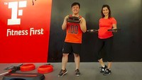 <p>Tetap aktif olahraga untuk menjaga kebugaran tubuh. (Foto: Instagram @nadiamulya)<br /><br /></p>