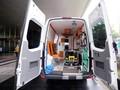 Ritual Bersihkan Ambulans Usai Angkut Pasien Positif Corona