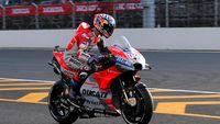 Free Practice I Motogp Malaysia: Dovizioso Tercepat, Rossi Kedua